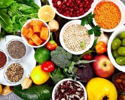 balanced-food-background-organic-food-for-healthy--TGCH6G5